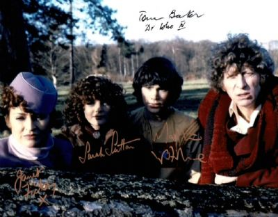 Doctor Who Cast Signed Photo - Logopolis